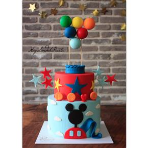 Disney pasta mickey minnie donald duck goofy cupcake