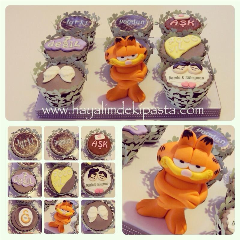 Garfield Birthday Cake Topper